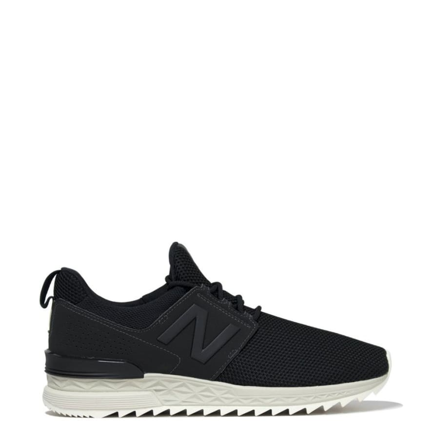 New Balance - MS574D - black / 40.5 - Shoes Sneakers