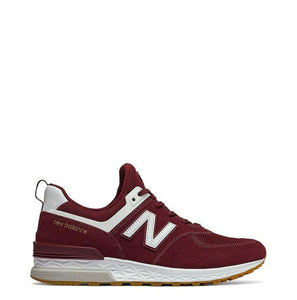 New Balance - MS574F - red / 46.5 - Shoes Sneakers