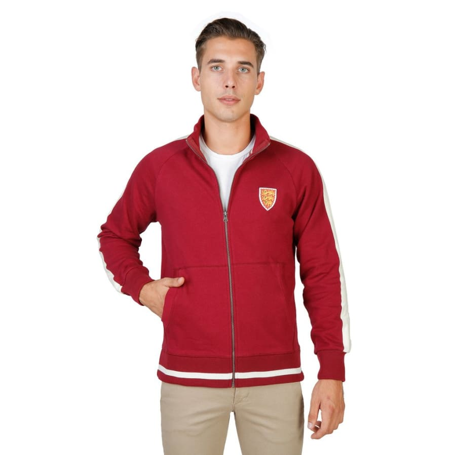 Oxford University - ORIEL-FULLZIP - red / S - Clothing Sweatshirts