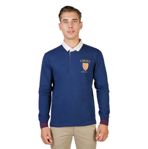 Oxford University - ORIEL-POLO-ML - blue / S - Clothing Polo