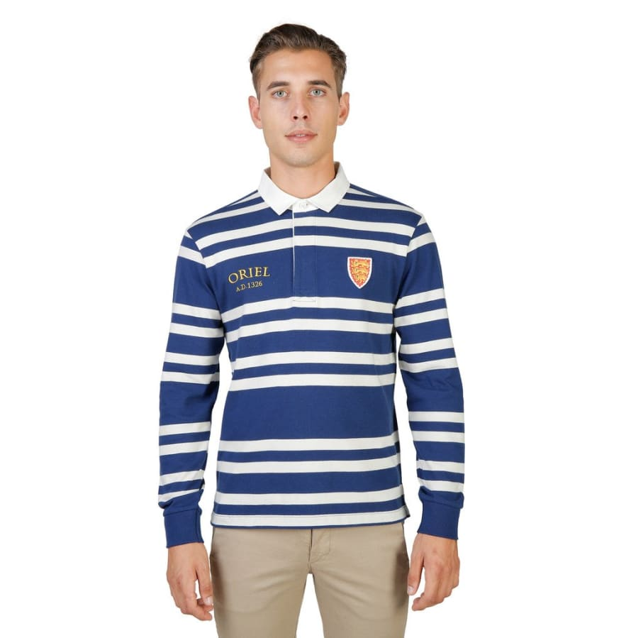 Oxford University - ORIEL-RUGBY-ML - blue / S - Clothing Polo