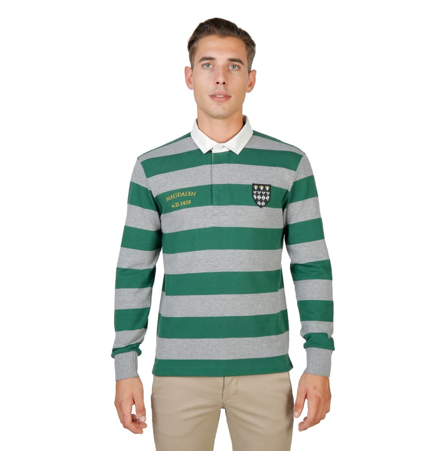 Oxford University - ORIEL-RUGBY-ML - green / S - Clothing Polo