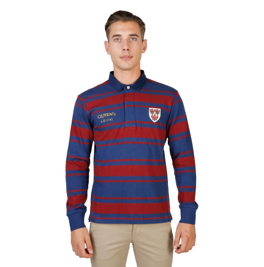 Oxford University - ORIEL-RUGBY-ML - red / S - Clothing Polo