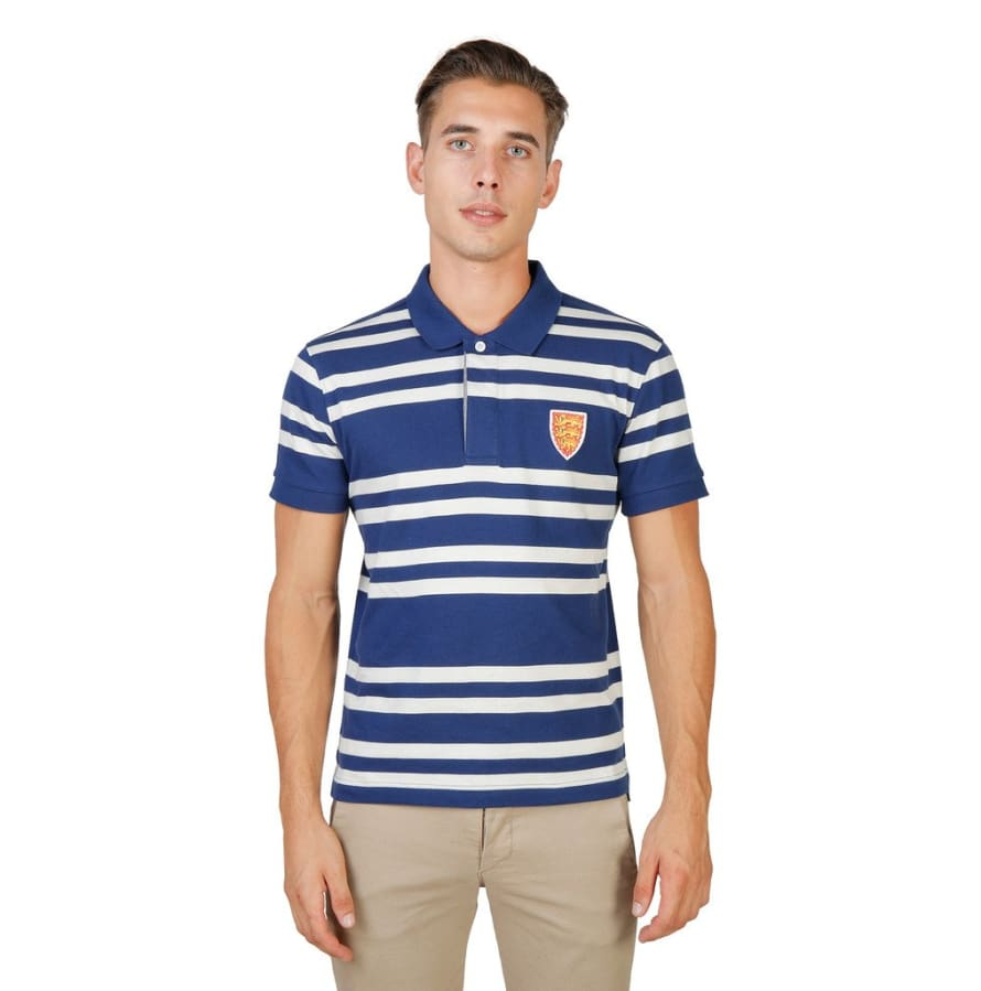 Oxford University - ORIEL-RUGBY-MM - blue / S - Clothing Polo