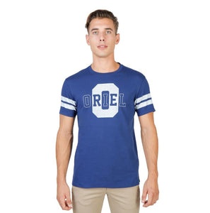 Oxford University - ORIEL-STRIPED-MM - blue / S - Clothing T-shirts