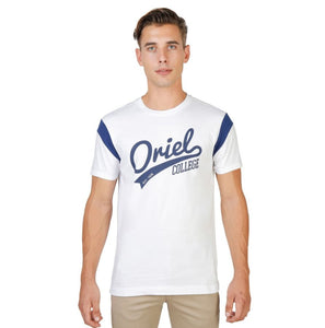 Oxford University - ORIEL-VARSITY-MM - white / S - Clothing T-shirts