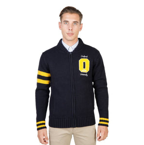 Oxford University - OXFORD_TRICOT-TEDDY - blue / M - Clothing Sweaters
