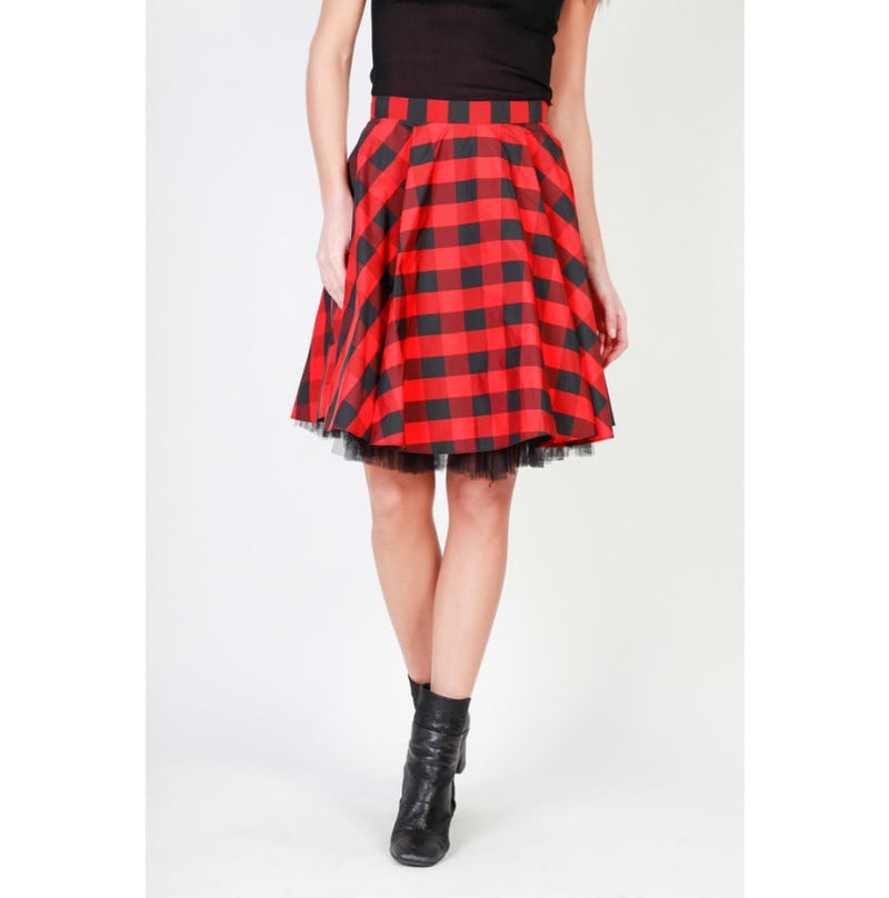 Pinko - 1G12VS-6503 - red / 38 - Clothing Skirts