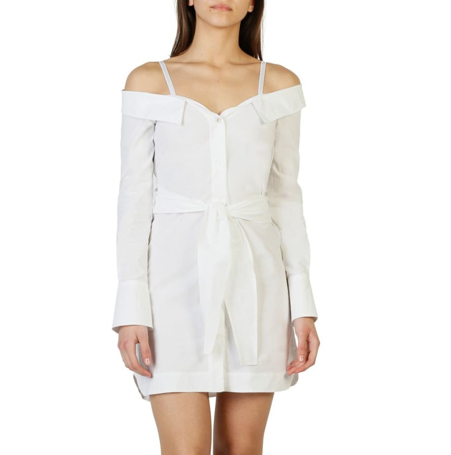 Pinko - 1G12YX_Y48F - white / 38 - Clothing Dresses
