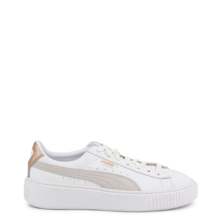 Puma - PLATFORM_366814 - white / 3.5 - Shoes Sneakers