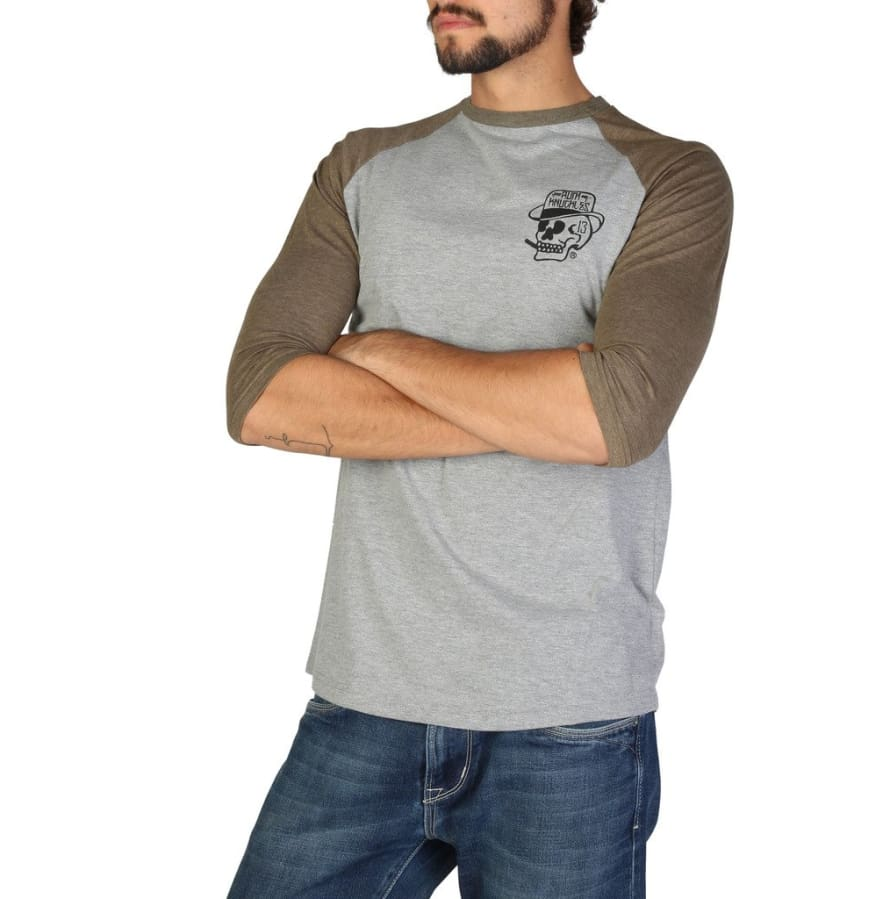 Rum Knuckles - DNMLT009 - grey / S - Clothing T-shirts
