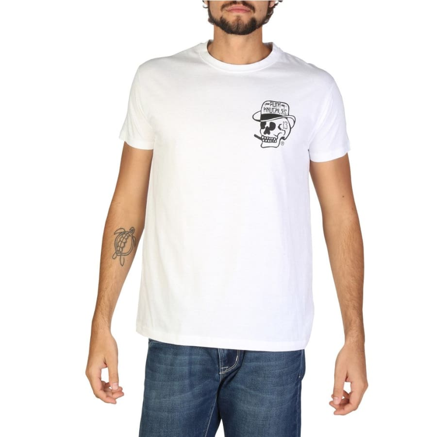 Rum Knuckles - DNMTS001 - white / S - Clothing T-shirts
