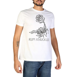 Rum Knuckles - DNMTS046 - white / S - Clothing T-shirts