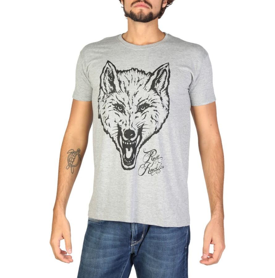 Rum Knuckles - DNMTS047 - grey / S - Clothing T-shirts