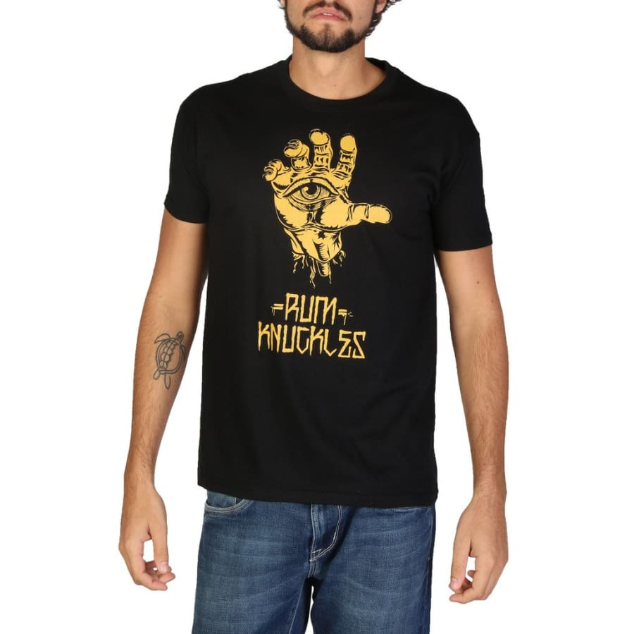 Rum Knuckles - DNMTS048 - black / S - Clothing T-shirts