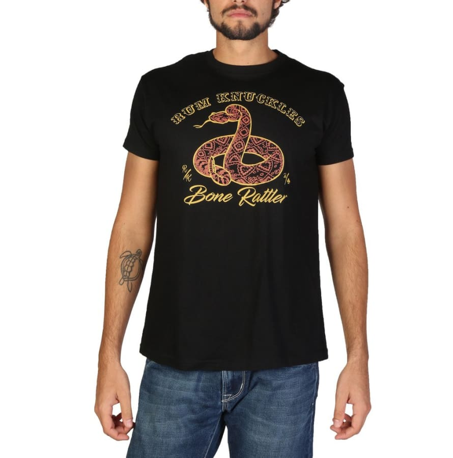 Rum Knuckles - DNMTS049 - black / S - Clothing T-shirts