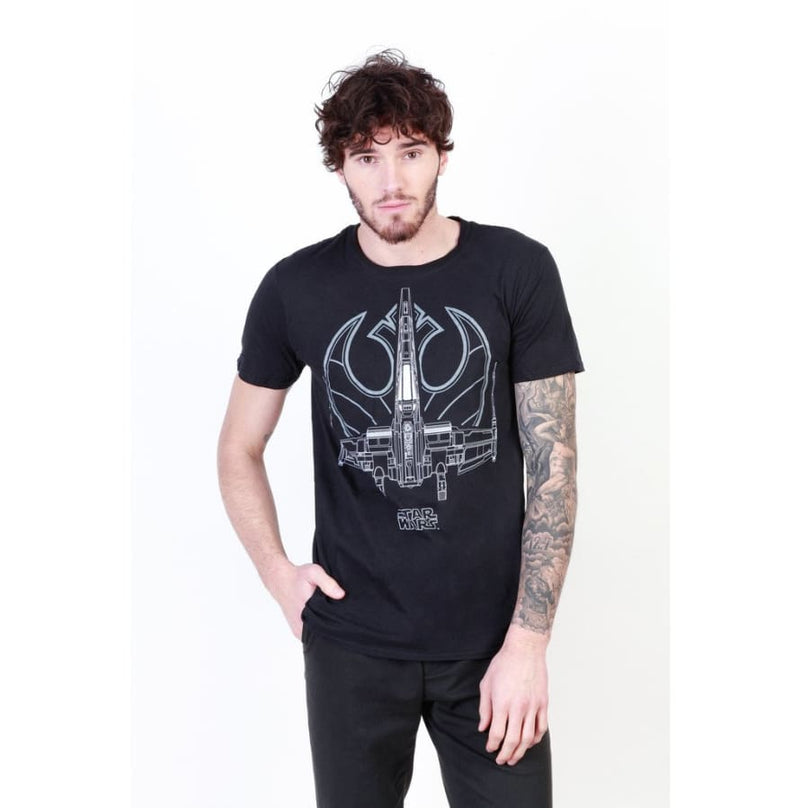 Star Wars - FBMTS135 - black / S - Clothing T-shirts