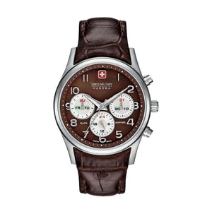 Swiss Military - NAVALUS_MULTIFUNCTION_06-6278_04 - brown / NOSIZE - Accessories Watches