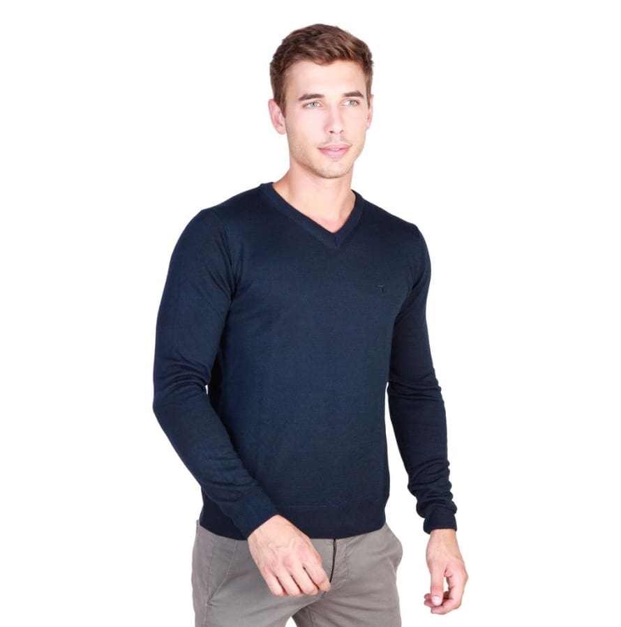 Trussardi - 32M33INT - blue / L - Clothing Sweaters