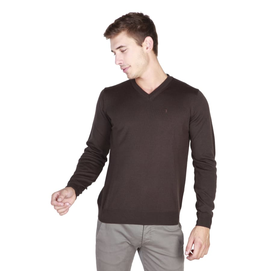 Trussardi - 32M33INT - brown-1 / M - Clothing Sweaters