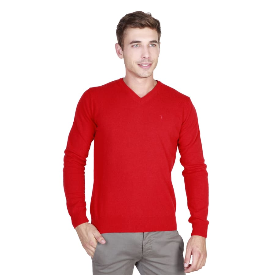 Trussardi - 32M37INT - red / XL - Clothing Sweaters