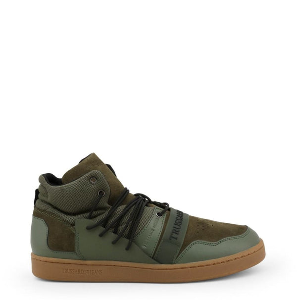 Trussardi - 77A00099 - green / 40 - Shoes Sneakers