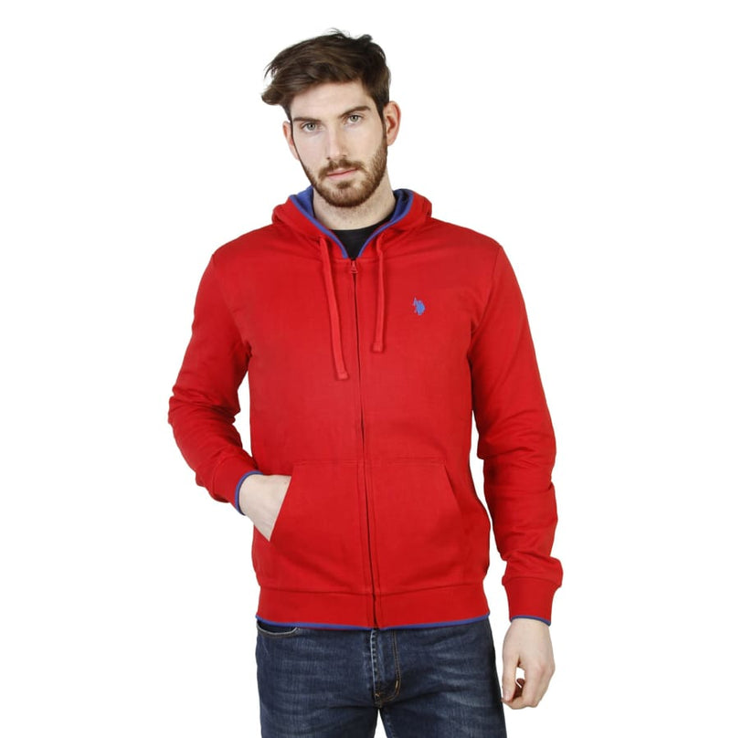 U.S. Polo - 42275_49333 - red / M - Clothing Sweatshirts