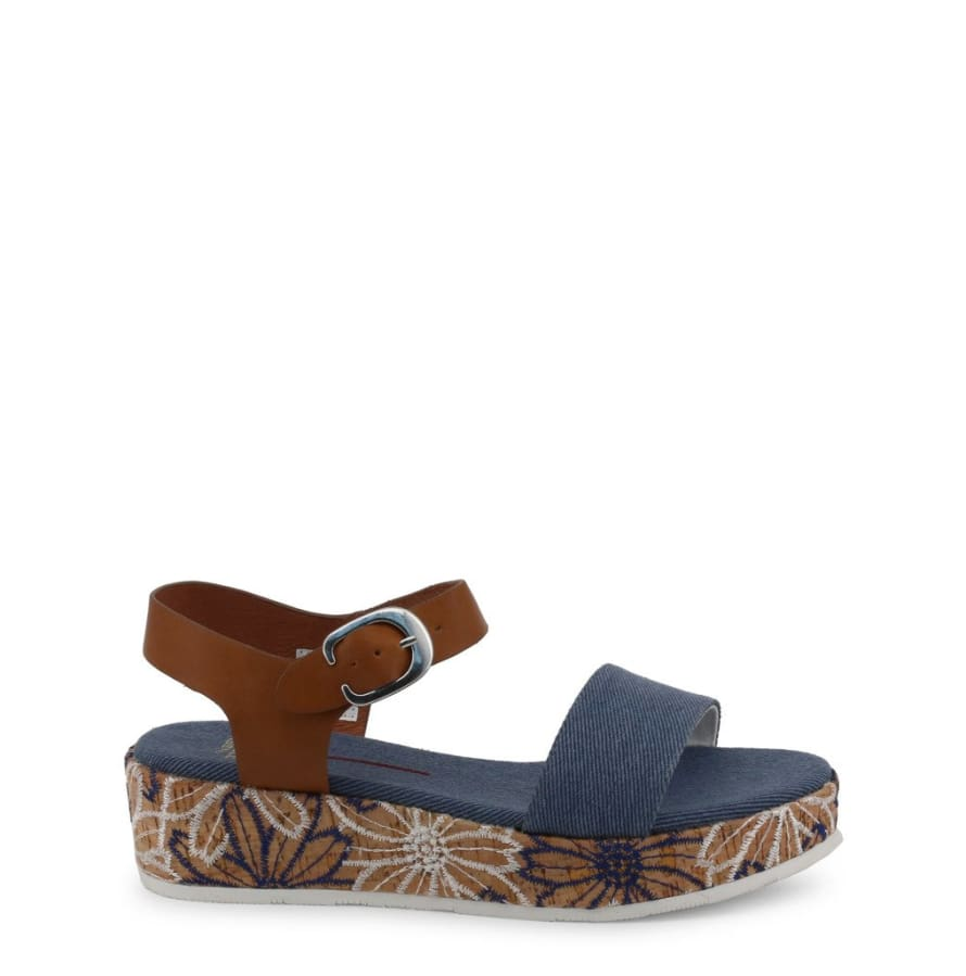U.S. Polo - JENNA4046S9_CY1 - blue / 36 - Shoes Wedges