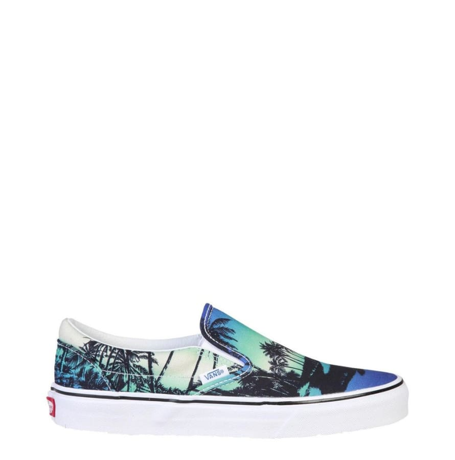 Vans - CLASSIC-SLIP-ON - blue / 8.5 - Shoes Sneakers