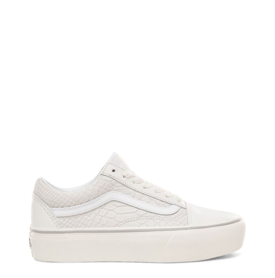 Vans - OLD-SKOOL-PLATFORM - white / 6 - Shoes Sneakers