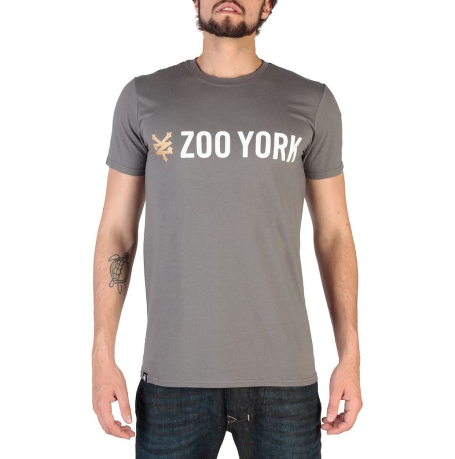 Zoo York - RYMTS065 - grey / S - Clothing T-shirts