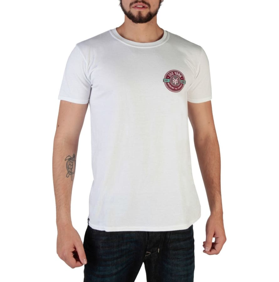 Zoo York - RYMTS109 - white / S - Clothing T-shirts