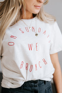 Sunday Brunch Tee