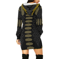 Pako Rabong Fern Hoodie Mini Dress
