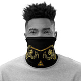 "Golden ""KA""  Neck Gaiter"
