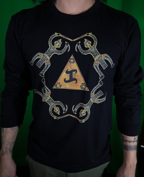 "Golden ""KA"" long sleeves shirt"