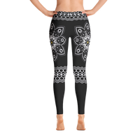Flower Mandala Leggings
