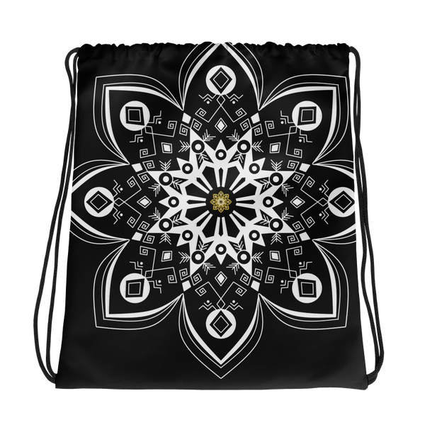 Flower Mandala String Bag