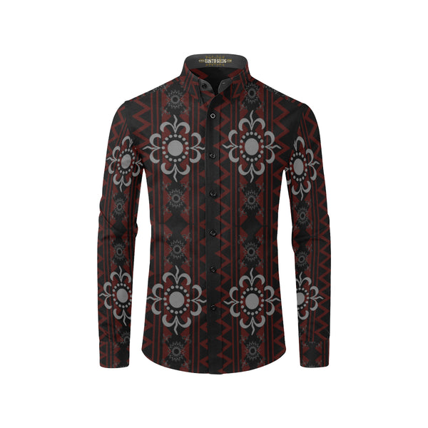 Visayan Pintados Barong Casual Dress Shirt