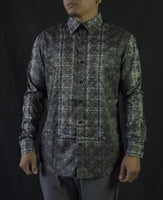 Ivory Barong Casual Dress Shirt