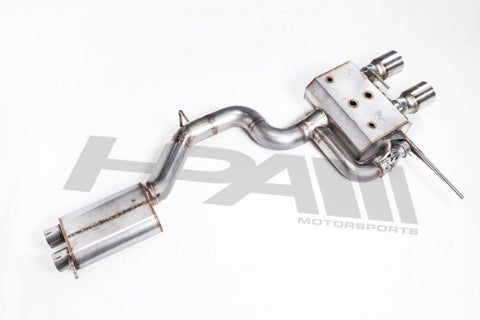 HPA MK5 R32 Cat Back Exhaust