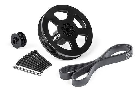 APR 3.0 TFSI Supercharger Drive and Crank Pulley Kit