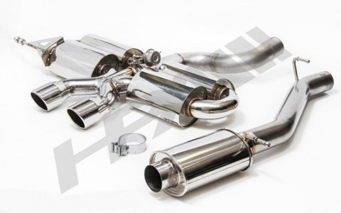 HPA MK6 Golf R Quad Pack Cat-Back Exhaust System