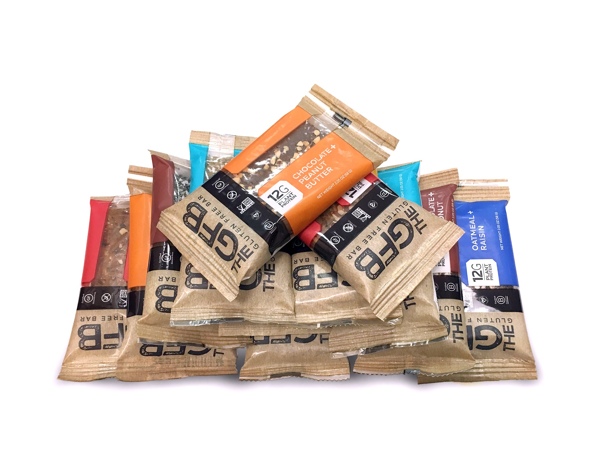 CUSTOM Case - Bars (Case of 12) - Special Offer - The GFB - The Gluten Free Bar