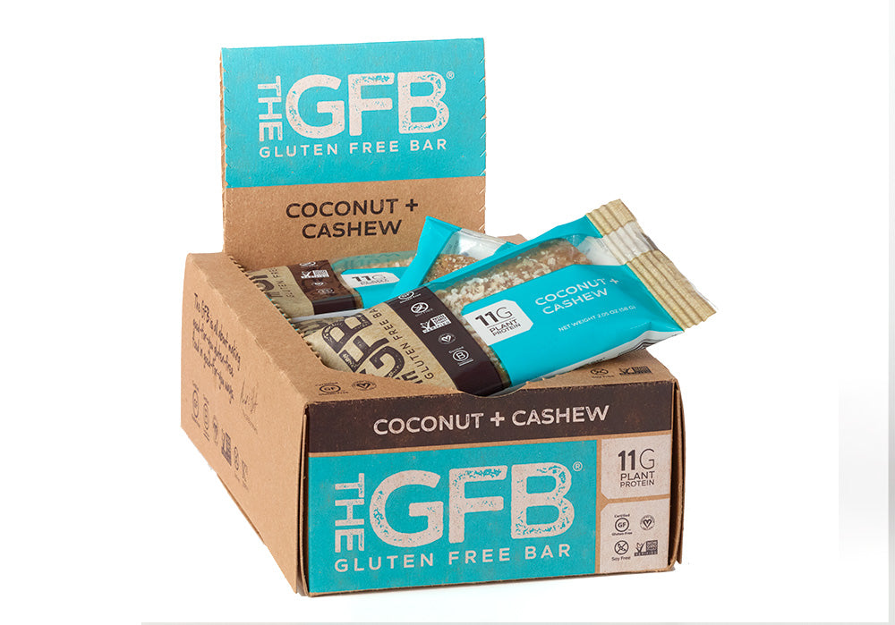 Coconut Cashew Bars (Case of 12) - The GFB - The Gluten Free Bar