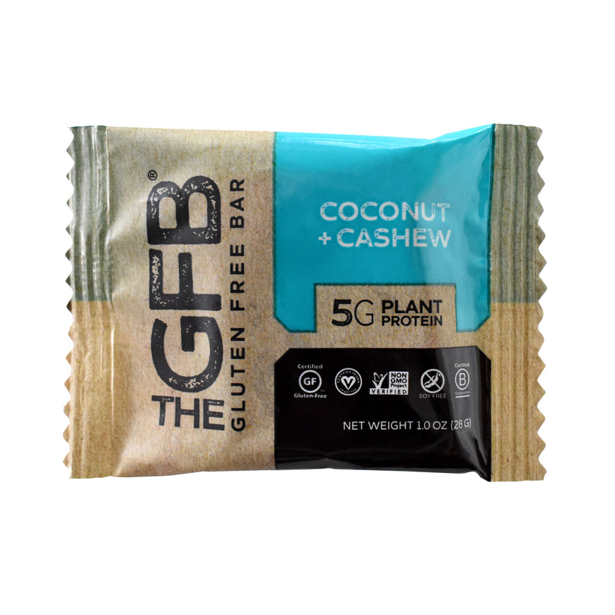 Coconut Cashew and Dark Chocolate Coconut Mini Bars (Pouch of 8)