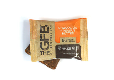 Peanut Butter and Chocolate Peanut Butter Mini Bars (Pouch of 8) - The GFB - The Gluten Free Bar