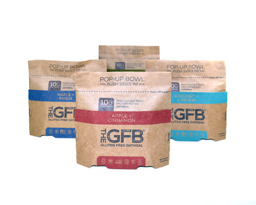 CUSTOM Case - Oatmeal (Case of 6) - Special Offer - The GFB - The Gluten Free Bar