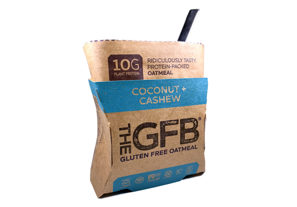 Coconut Cashew - Oatmeal  (Case of 6) - The GFB - The Gluten Free Bar