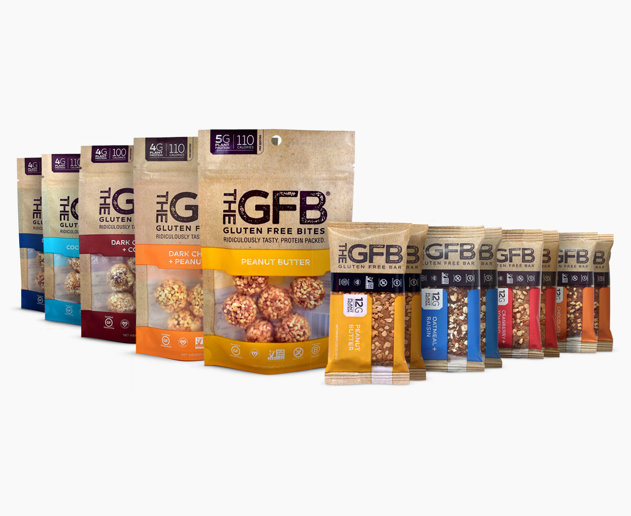 GFB Sampler Pack: Best Sellers - The GFB - The Gluten Free Bar